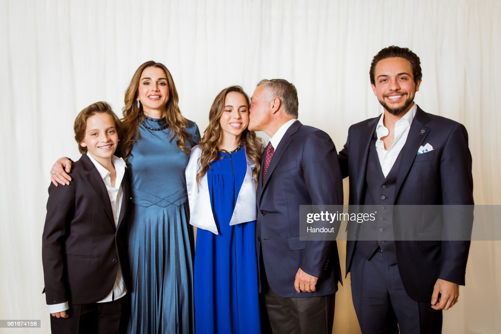 Jordan Royal Family Attend Princess Salma's Graduation