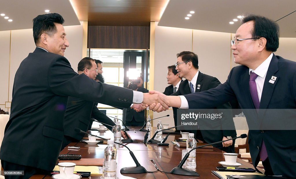 Koreas Hold Additional Talks on PyeongChang Olympics