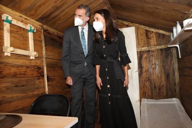 ESP: Spanish Royals Inaugurate The Memorial Center For The Victims Of Terrorism In Vitoria