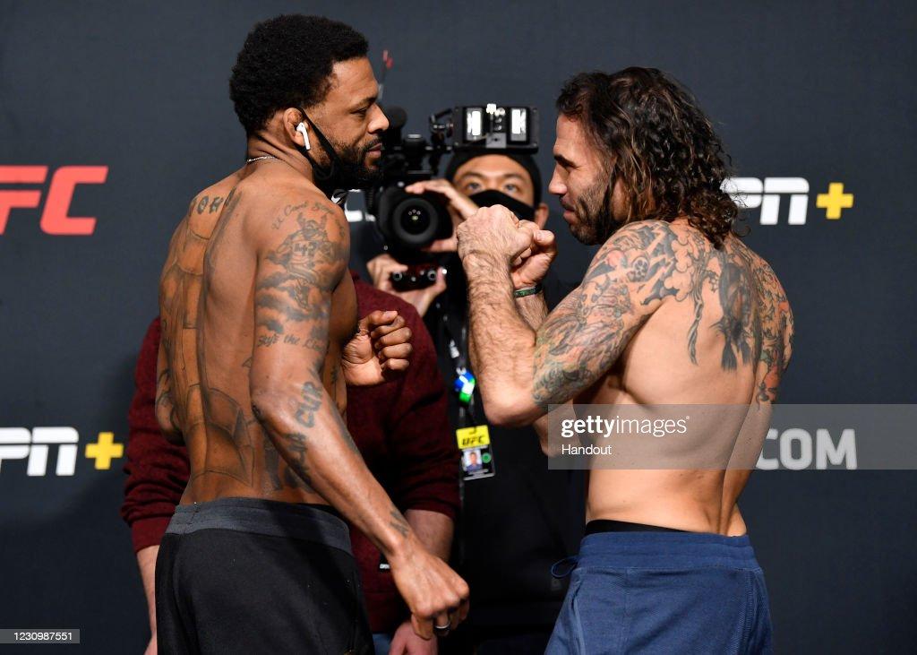 UFC Fight Night Overeem v Volkov:  Weigh-Ins : News Photo