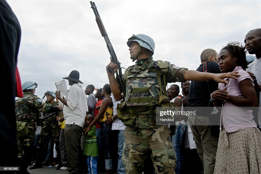Thousands Still Displaced As Recovery Efforts Continue In Haiti : News Photo