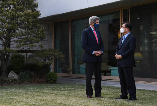 KOR: US Envoy For Climate Kerry Visits South Korea