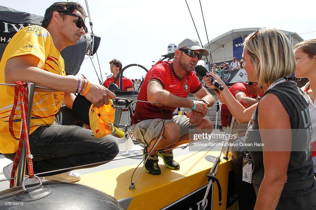 In-Port Race Lisbon - Volvo Ocean Race 2014-2015