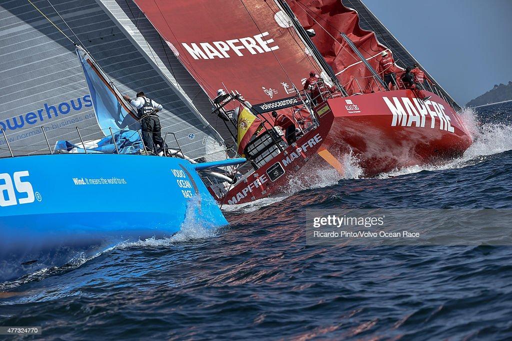 Volvo Ocean Race 2014-2015 - Leg 9 Start : ニュース写真