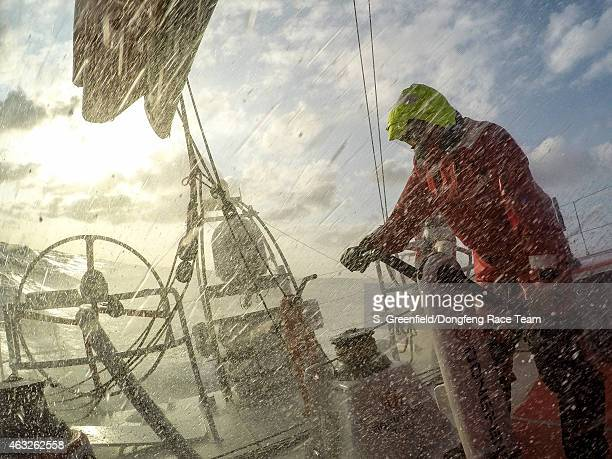In this handout image provided by the Volvo Ocean Race onboard Dongfeng Race Team I don't have a good waterproof housing for my DSLR so I decided to...