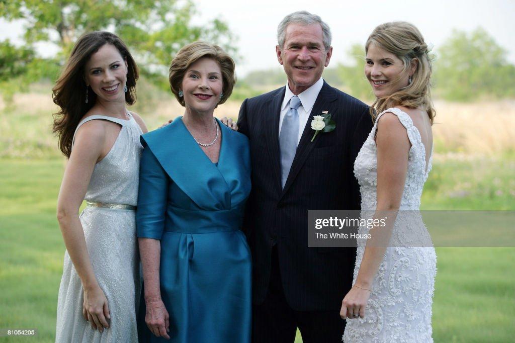 Henry Hager And Jenna Bush Wedding : News Photo