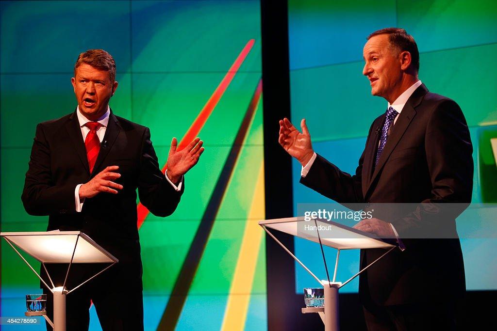 TVNZ Leaders Debate 2014