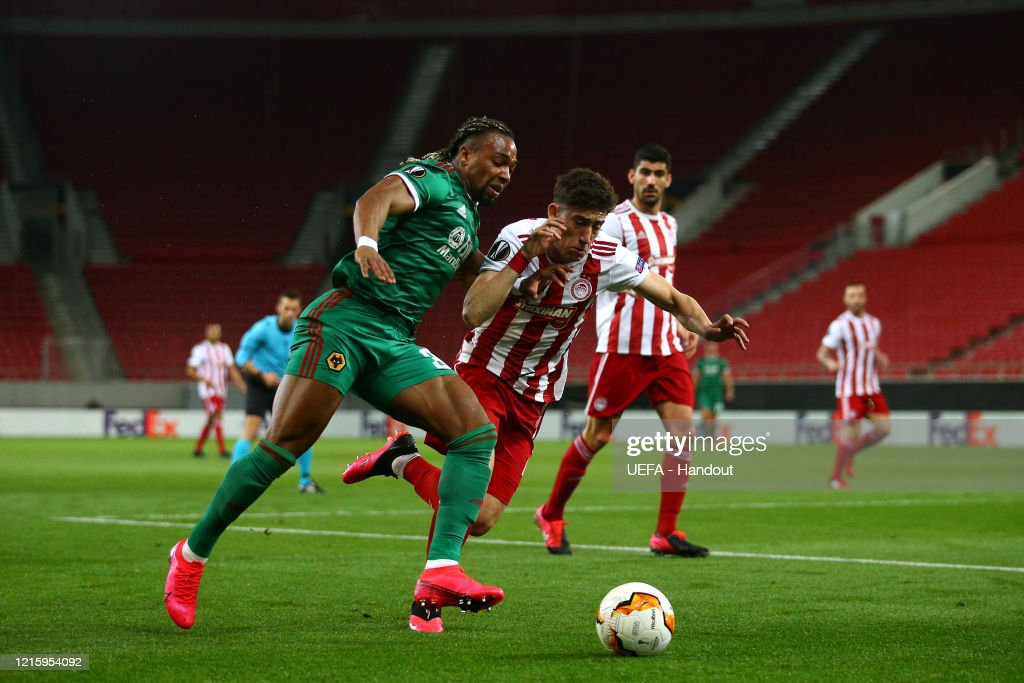 Olympiacos FC v Wolverhampton Wanderers - UEFA Europa League Round of 16: First Leg : News Photo