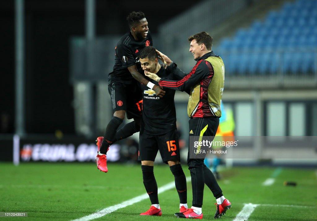 LASK v Manchester United - UEFA Europa League Round of 16: First Leg : ニュース写真