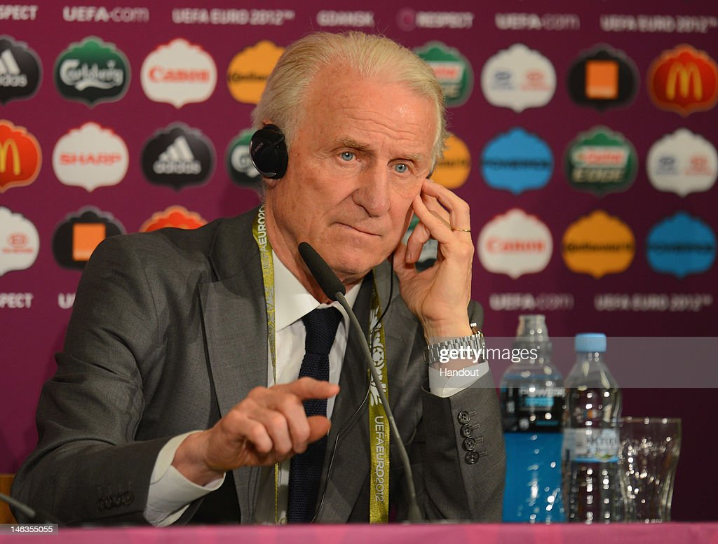 Post-Match Press Conferences - Spain v Republic of Ireland, Group C: UEFA EURO 2012