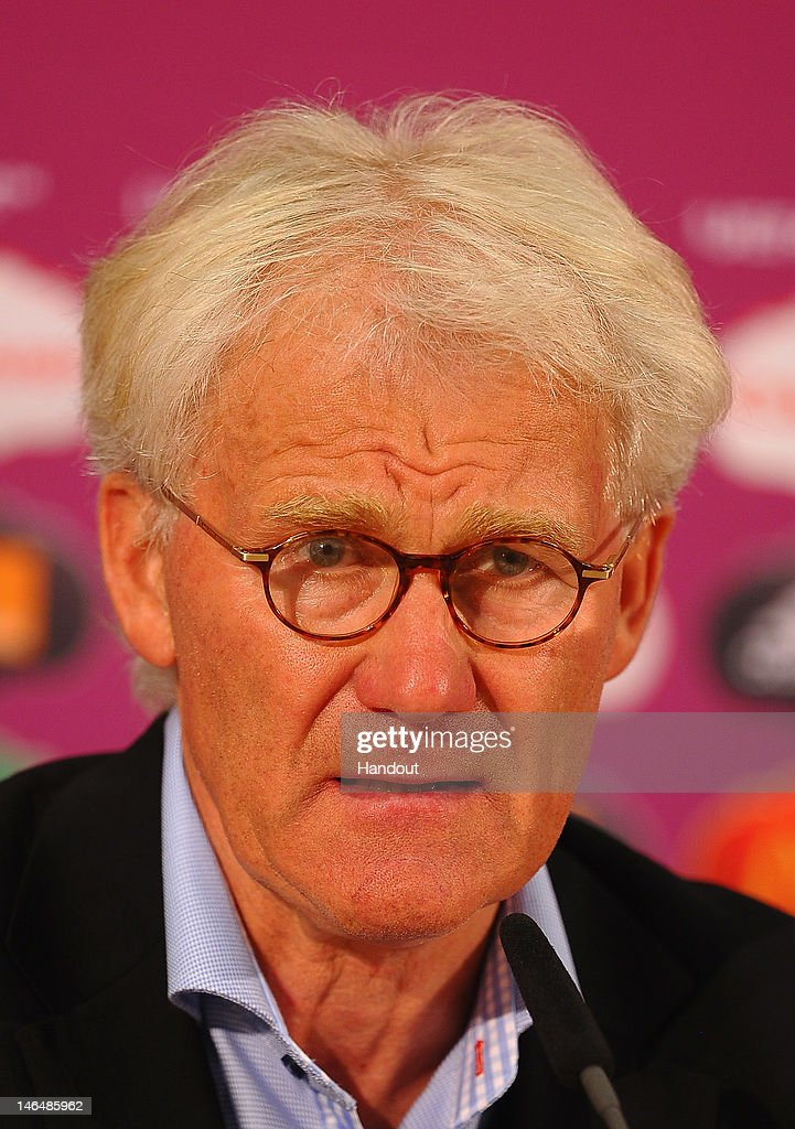 Post-Match Press Conferences - Denmark v Germany, Group B: UEFA EURO 2012