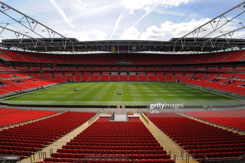 UEFA Champions League Previews - Wembley Stadium : Photo d'actualité