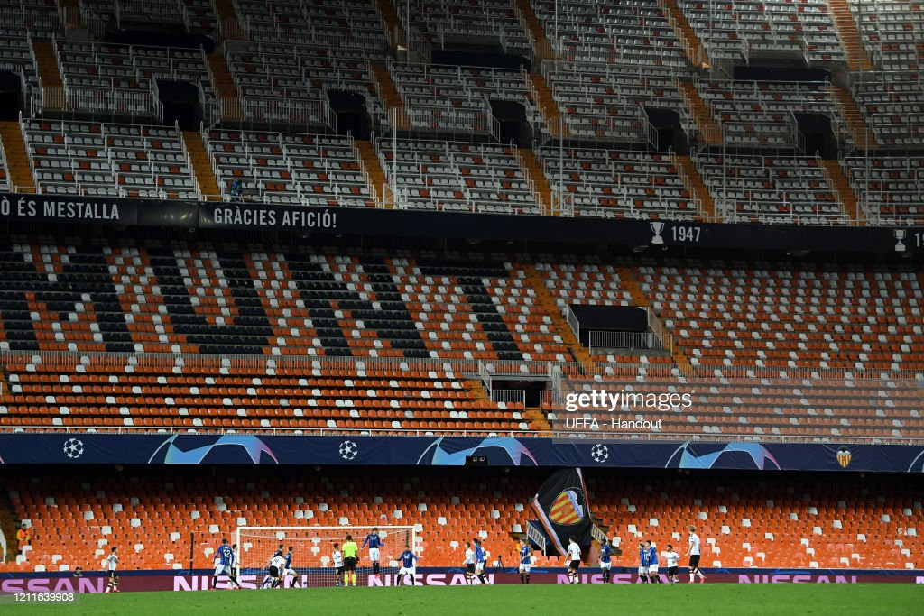 Valencia CF v Atalanta - UEFA Champions League Round of 16: Second Leg : News Photo