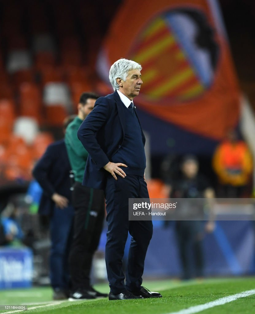 Valencia CF v Atalanta - UEFA Champions League Round of 16: Second Leg : ニュース写真