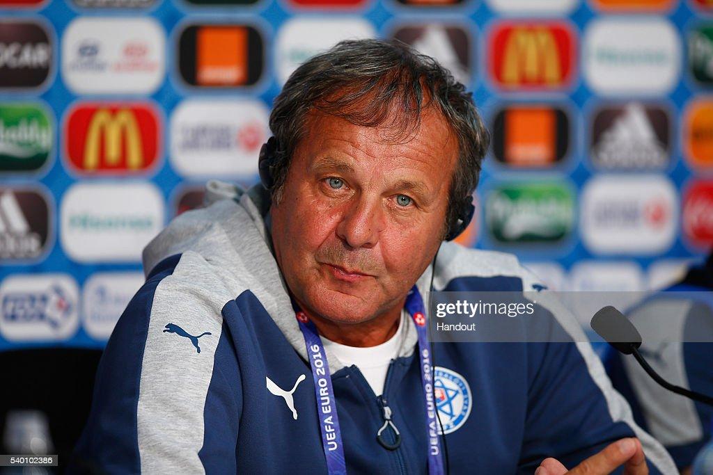 Euro 2016 - Slovakia Press Conference