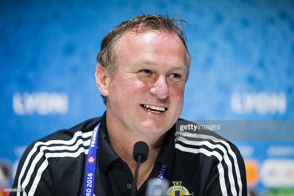 Euro 2016 - Northern Ireland Press Conference