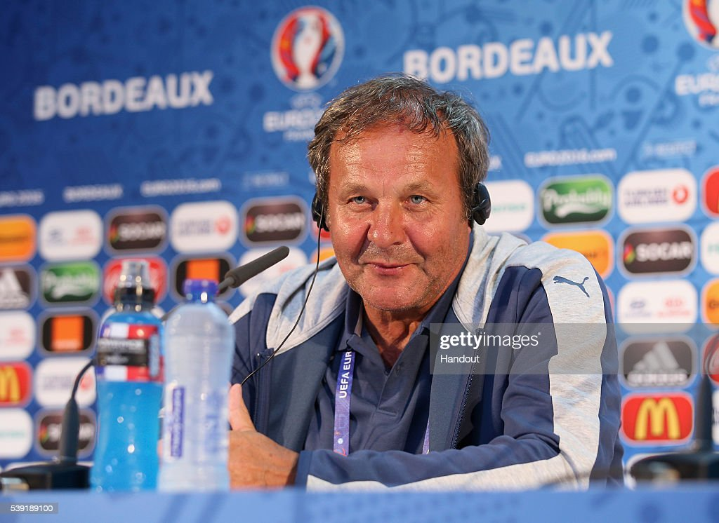 Euro 2016 - Slovakia Press Conference