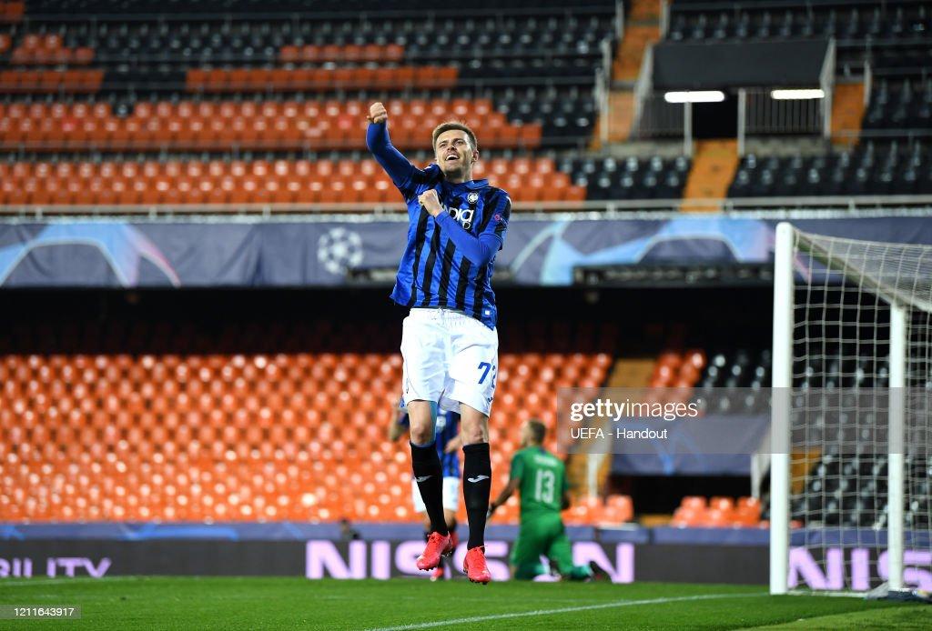 Valencia CF v Atalanta - UEFA Champions League Round of 16: Second Leg : News Photo
