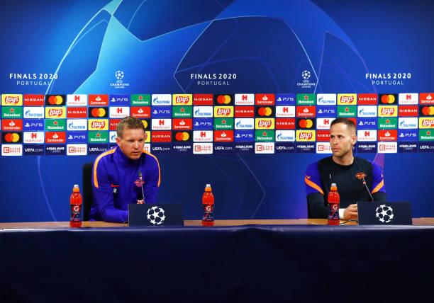 PRT: RB Leipzig Press Conference - UEFA Champions League