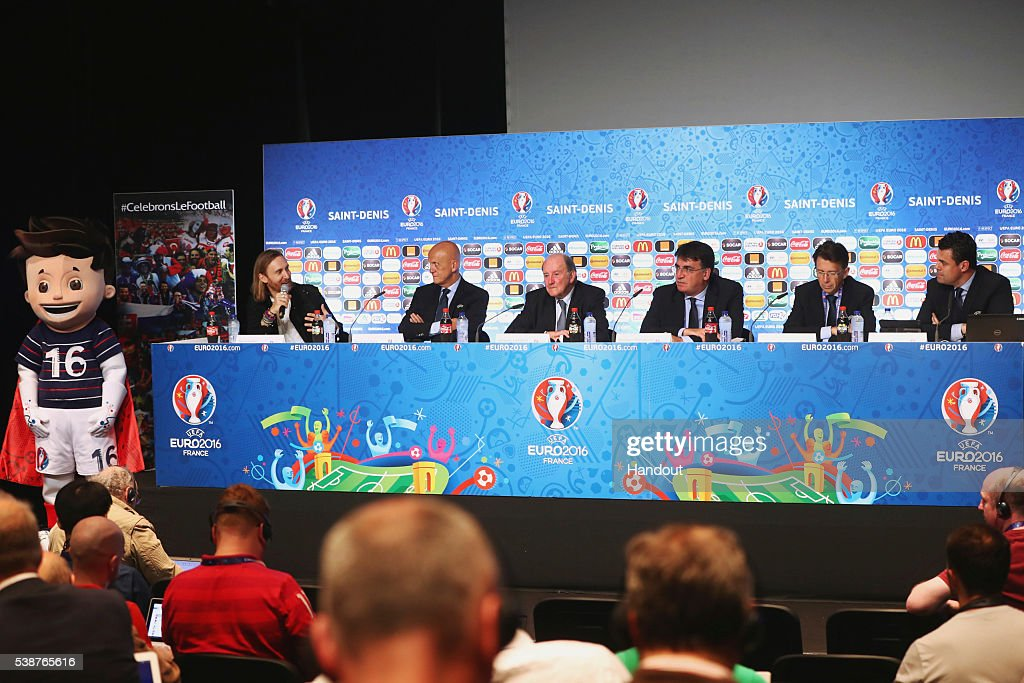EURO 2016 Kick Off Press Conference