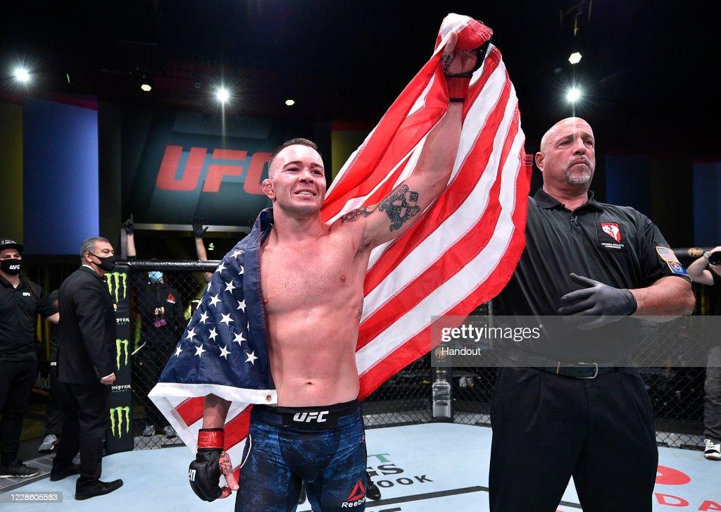 UFC Fight Night: Covington v Woodley : News Photo