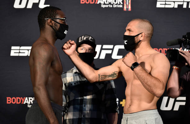 NV: UFC Fight Night Eye v Calvillo: Weigh-Ins