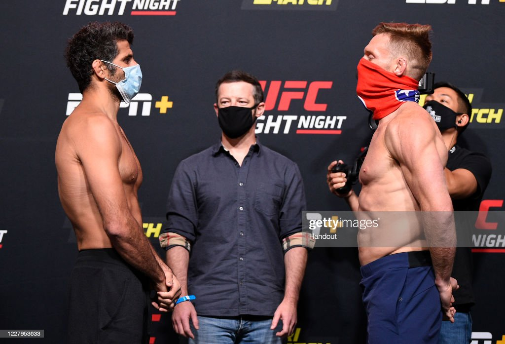 UFC Fight Night Lewis v Oleinik:  Weigh-Ins : News Photo