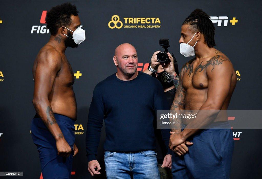 UFC Fight Night Hall v Silva:  Weigh-Ins : News Photo
