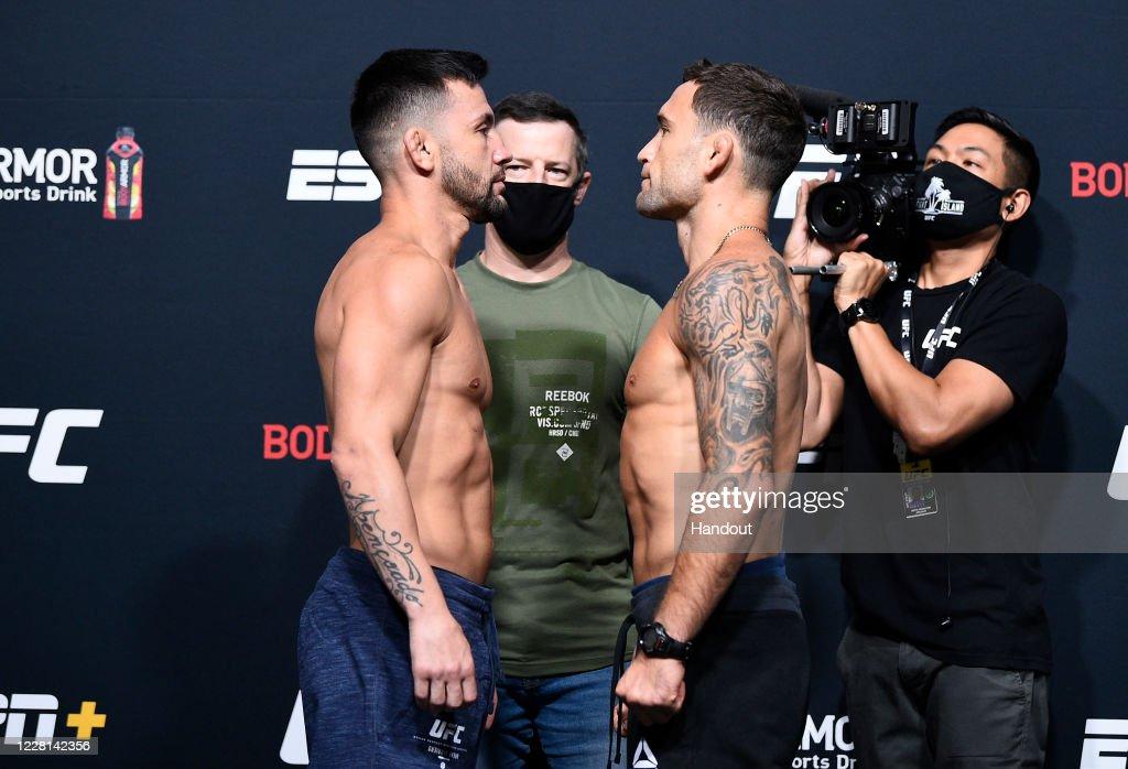 UFC Fight Night Munhoz v Edgar:  Weigh-Ins : News Photo