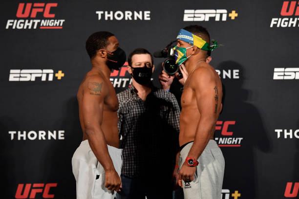 NV: UFC Fight Night Woodley v Burns:  Weigh-Ins