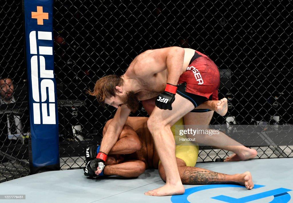 UFC Fight Night: Boser v Pessoa : News Photo