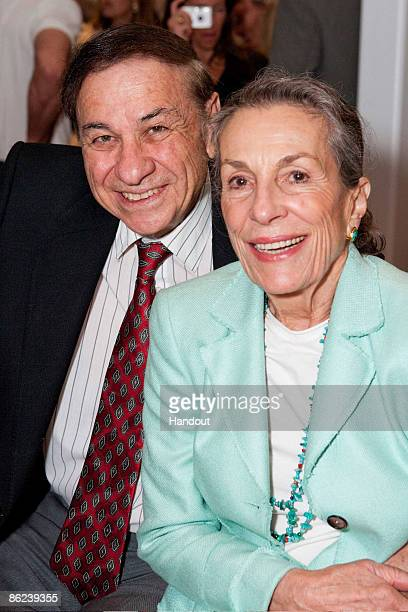In this handout image provided by Walt Disney Studios Richard M Sherman and Diane Disney Miller attend the world premiere screening of The Boys The...