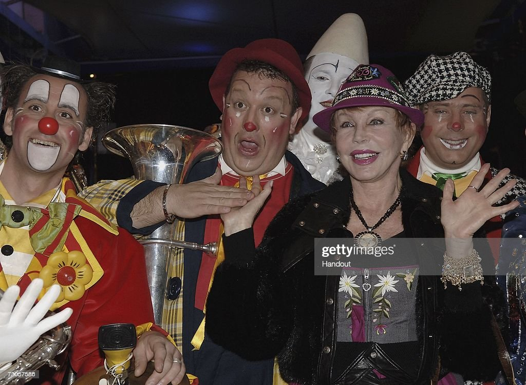 In this handout image released by Monaco Palace, Baroness Brandstetter arrives to attend the 31st International Circus Festival of Monte Carlo on January 20, 2007 in Monte Carlo, Monaco.