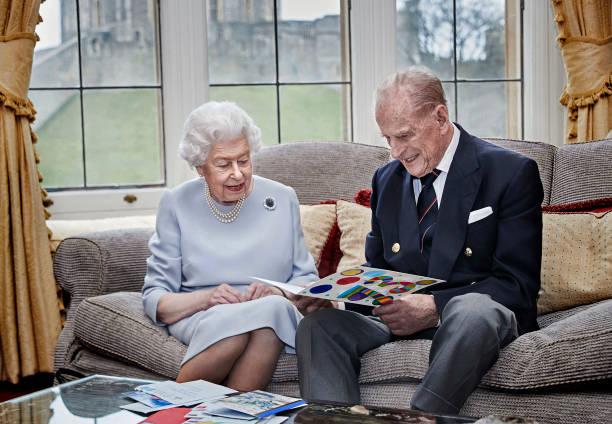 GBR: Queen & Duke Of Edinburgh 73rd Wedding Anniversary Official Portrait