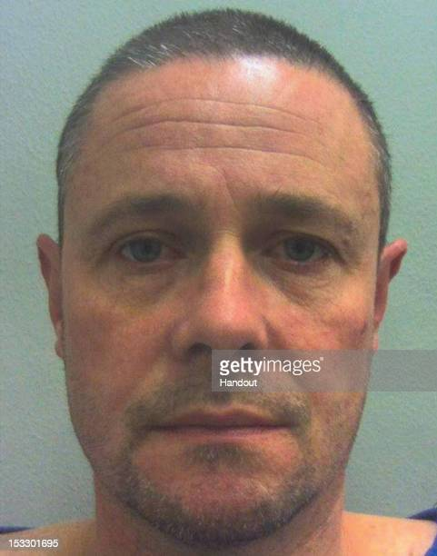 In this handout image supplied by Dyfed Powys Police Mark Leonard Bridger is pictured following his arrest in Wales 46yearold Mark Bridger was...