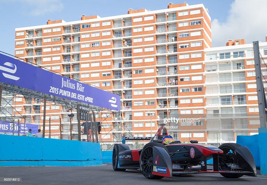 Punta del Este Formula E - Race : News Photo