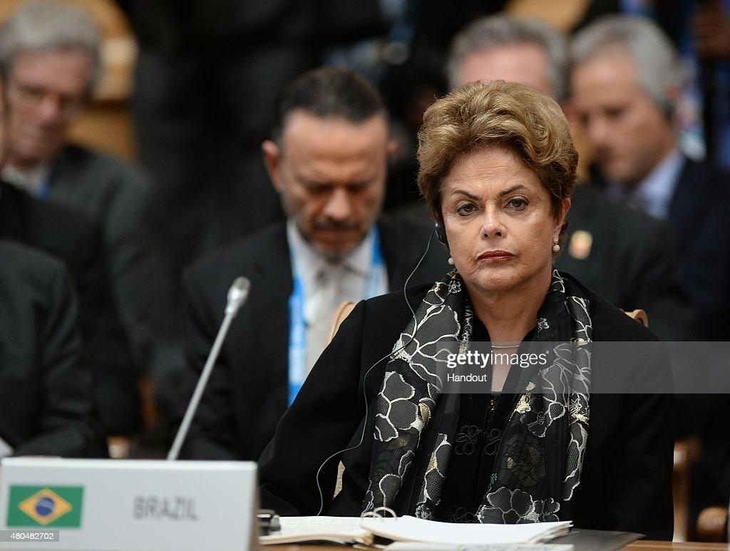 BRICS/SCO Summits - Russia 2015 : News Photo