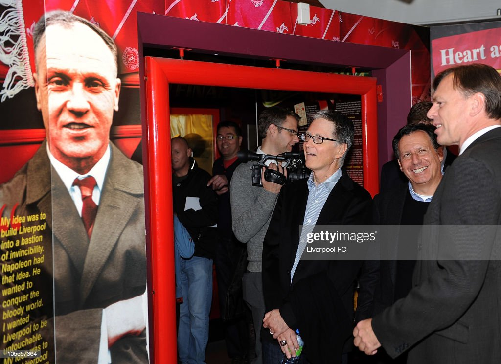 New Owner Of Liverpool FC John W. Henry Meets Manager And Team