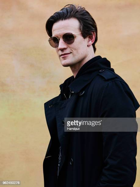 In this handout image supplied by RayBan Matt Baker wearing RayBan poses at the RayBan Studios during All Points East Festival at Victoria Park on...