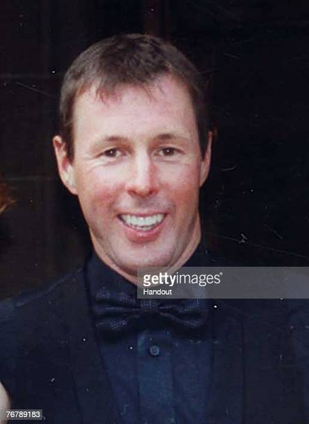 In this handout image supplied by Strathclyde Police Colin McRae former rally champion Colin McRae who was killed in a helicopter crash on September...