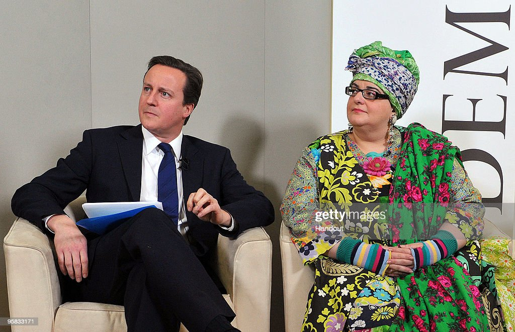 David Cameron Attends Demos Think Tank Event With Frank Field : ニュース写真