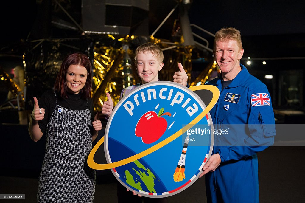 British Astronaut Tim Peake's Journey Into Space : News Photo