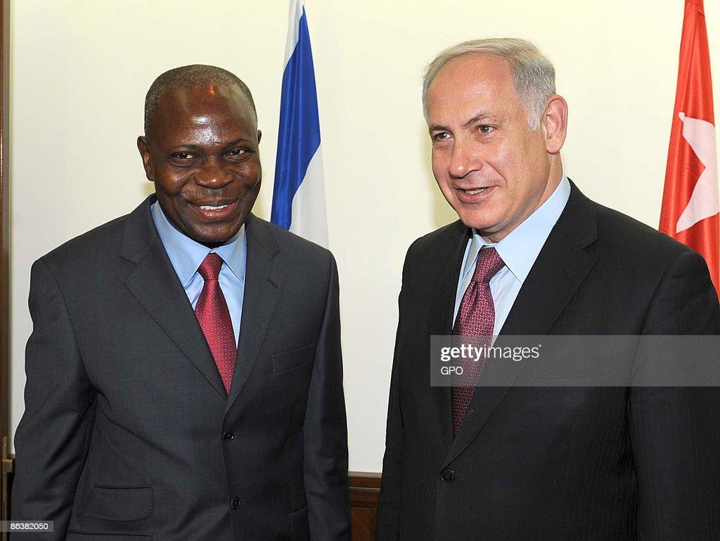 Prime Minister Benyamin Netanyahu Meets With Togolese Prime Minister Gilbert Houngbo : News Photo