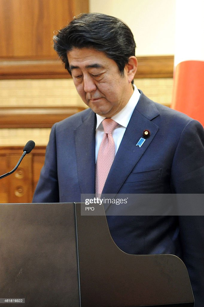 Japanese Prime Minister Visits Middle East