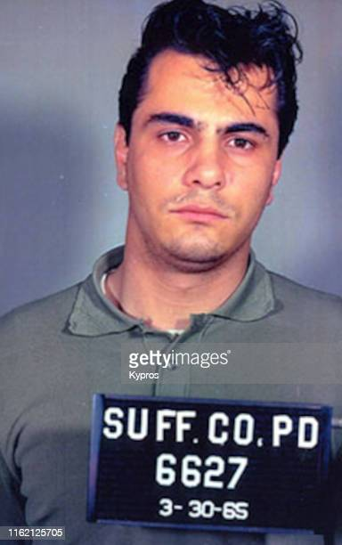 In this handout ItalianAmerican gangster John Gotti in a mug shot US 30th March 1965