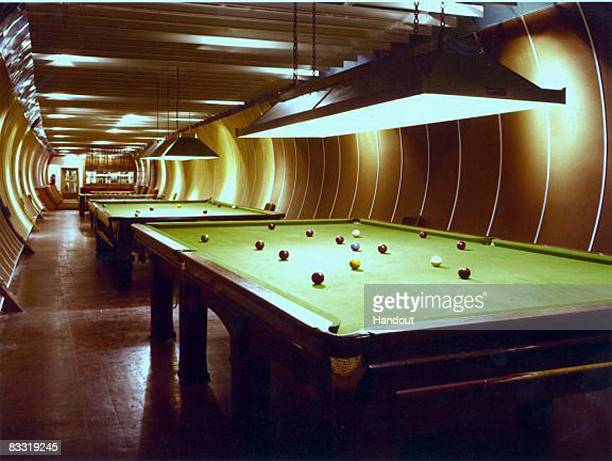 In this handout photgraph released by BT Media Image Library a general view of Kingsway Tunnel snooker room is seen in London England The image is...