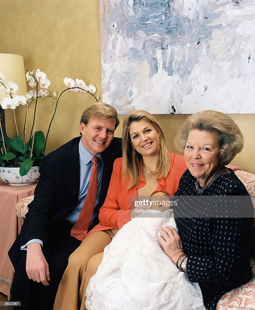 Dutch Princess Maxima Gives Birth : News Photo