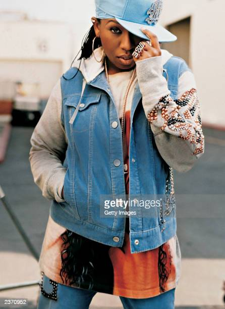 In this handout photo from The Gap singer Missy Elliott appears for Gap's new fall TV campaign set to 'Into the Hollywood Groove' a new remix by...