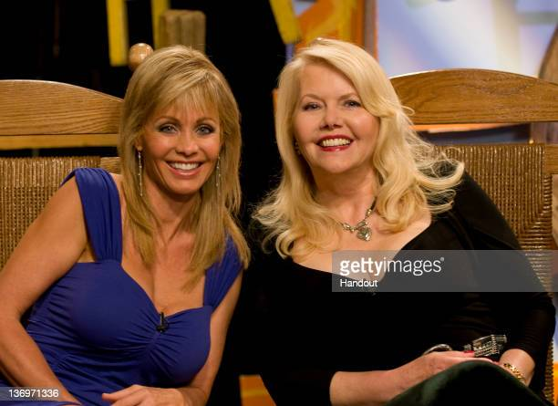 In this handout photo Irlene Mandrell and Misty Rowe attend Country's Family Reunion Salute to the Kornfield on May 27 2011 in Nashville Tennessee
