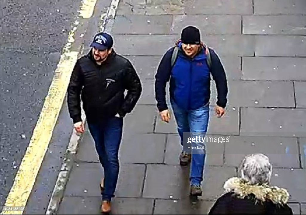 Russian Suspects Named In Connection With Salisbury Novichok Poisoning : News Photo